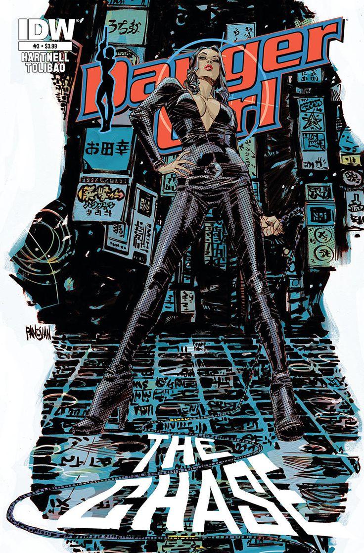 Danger Girl #3 Cover by urban-barbarian.deviantart.com on @deviantART