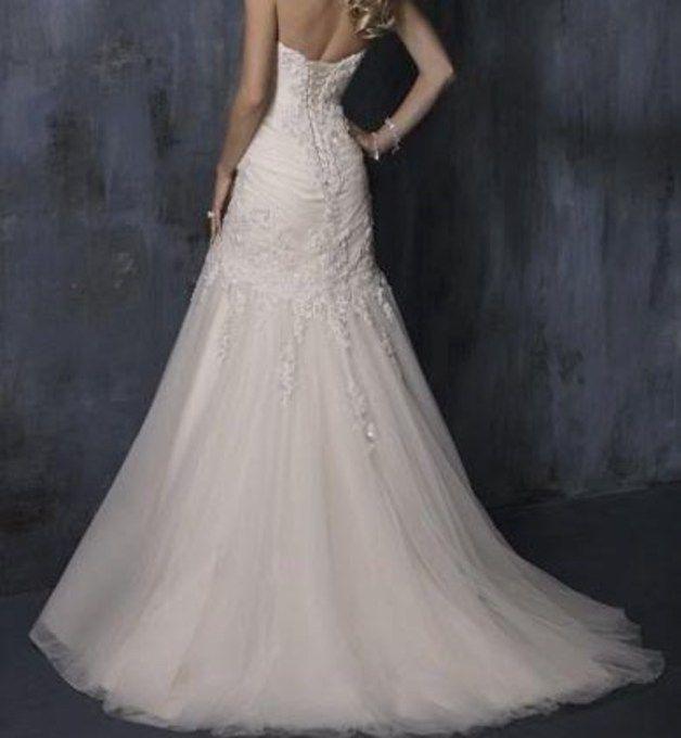 Kleider lang - Brautkleid- Hochzeitskleid - ein Designerstück von guttomi bei DaWanda