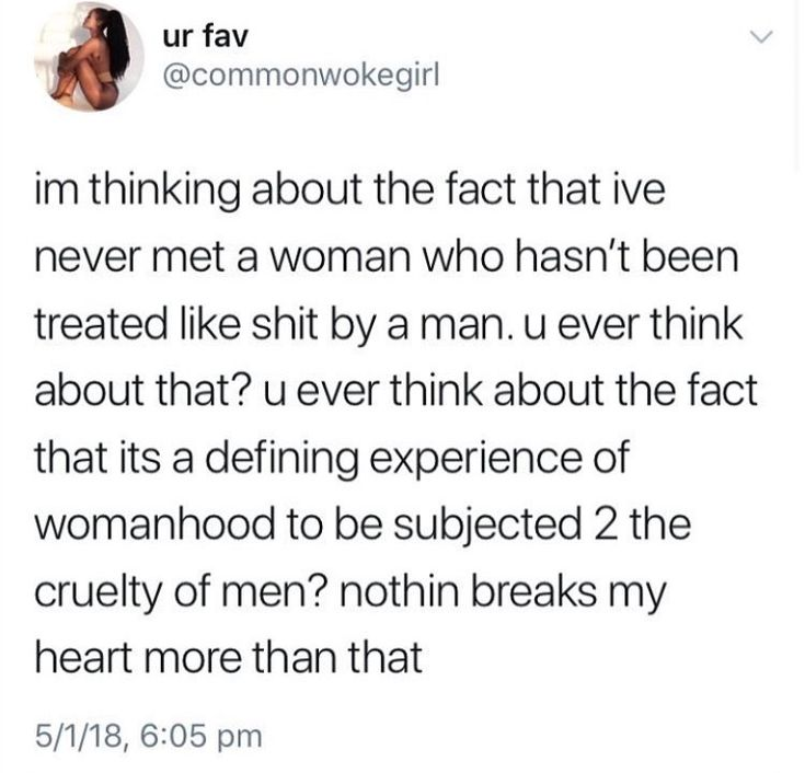 No, this is stupid. Everyone knows at least one @$$hole, it's not unique to the female experience.