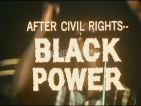 1967 NBC NEWS SPECIAL REPORT: AFTER CIVIL RIGHTS...BLACK POWER!!