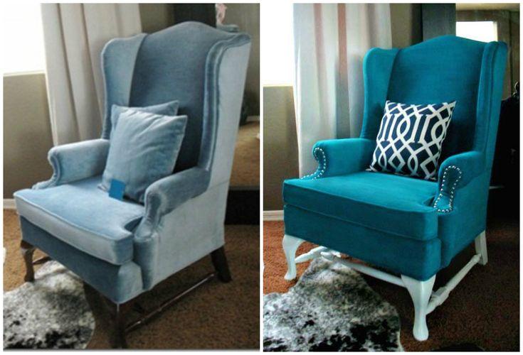 Sara 39 s code blog de costura diy sara loves diy c mo - Como tapizar un sillon ...