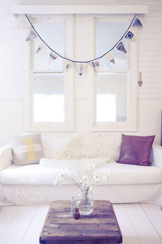 Image Via: SF Girl By Bay  #White: Interior, Living Rooms, Inspiration, Livingroom, White Horses, Homes