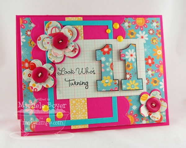 Look Who S Turning 11 By Shel9999 Cards And Paper Crafts