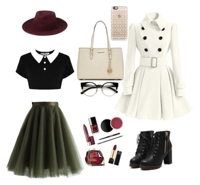 """""""Winter Special"""" by dianegoescu on Polyvore featuring Chicwish, MICHAEL Michael Kors, Casetify and Whistles"""