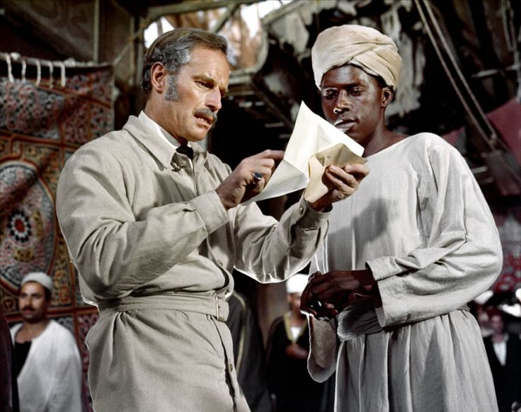Charlton Heston in Khartoum