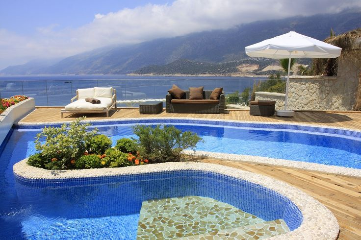 Peninsula Gardens -Kas, Turkey Perched on the...