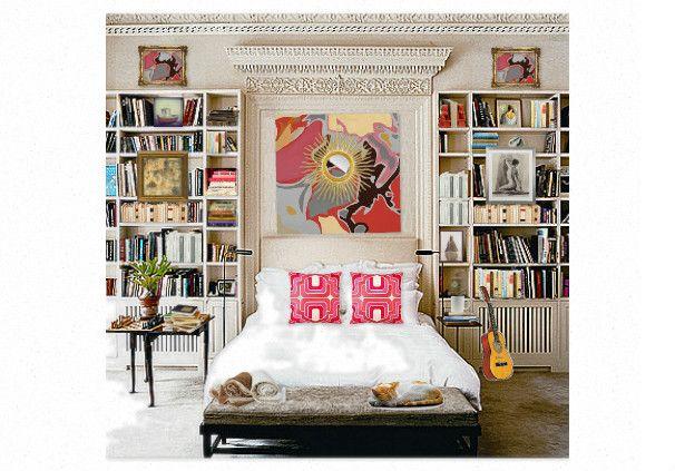 library bedroom by swimen | Olioboard