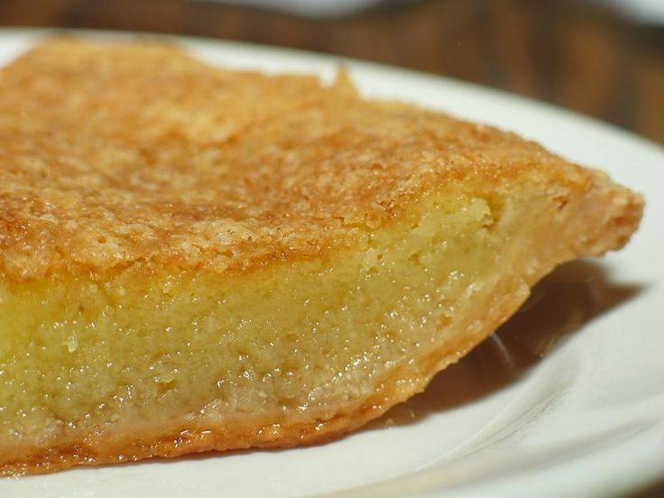 "Chess Pie: similiar to ""Aunt Bessie's Buttermilk Pie from Clematis Street Cafe"""