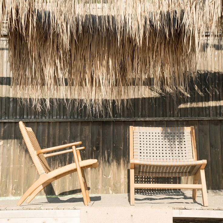wooden armchair Ilios