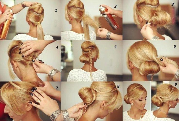 Hair Bun Idea - Hairstyles and Beauty Tips