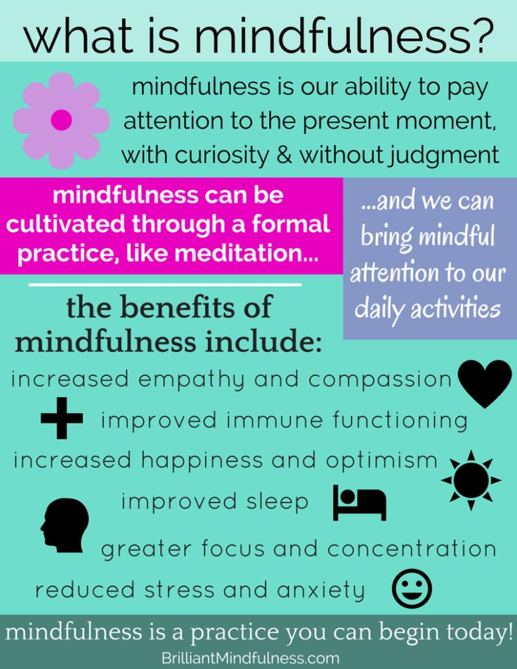 mindfulness and meditation as a treatment Mindfulness-based interventions can but mbct also integrates cognitive behavioral therapy techniques as a part of treatment mindfulness meditation is a.