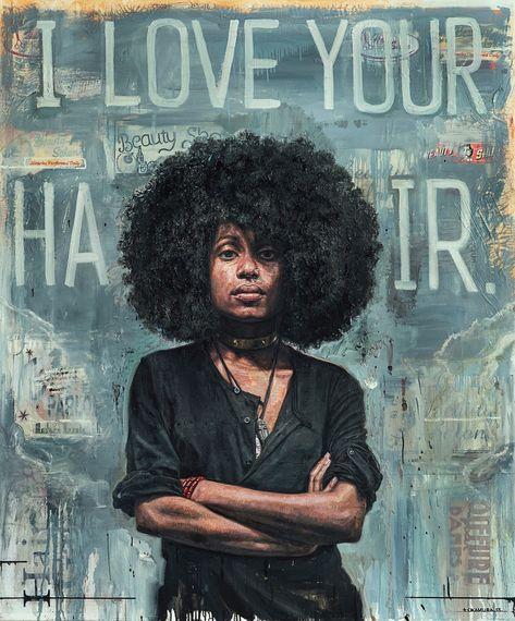 zhannadesign: Artist Tim Okamura Reveals Inner Strength of Women...