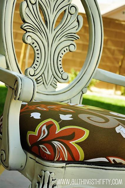 Glazed Chair- Redo for Kitchen Chairs...