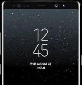 Want to change lock screen clock on galaxy Note 8? Guide to change Note 8 lock screen clock. Change Note 8 lock screen clock using Always on display setting