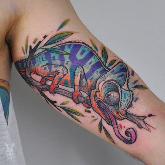 Chameleon Arts Tattoo Flash: Best 25+ Chameleon Tattoo Ideas On Pinterest