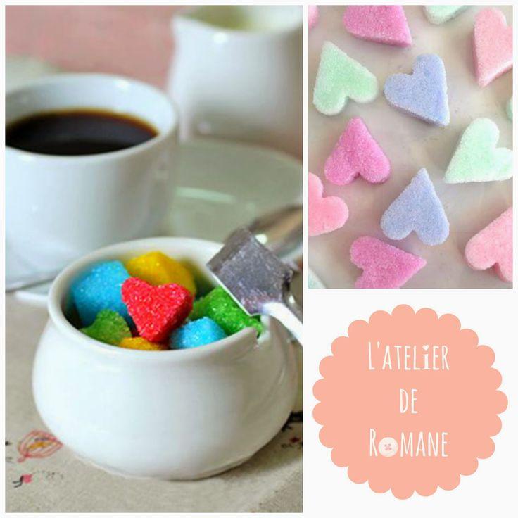 L'atelier de Romane: Réalisez vous même de petits sucres colorés