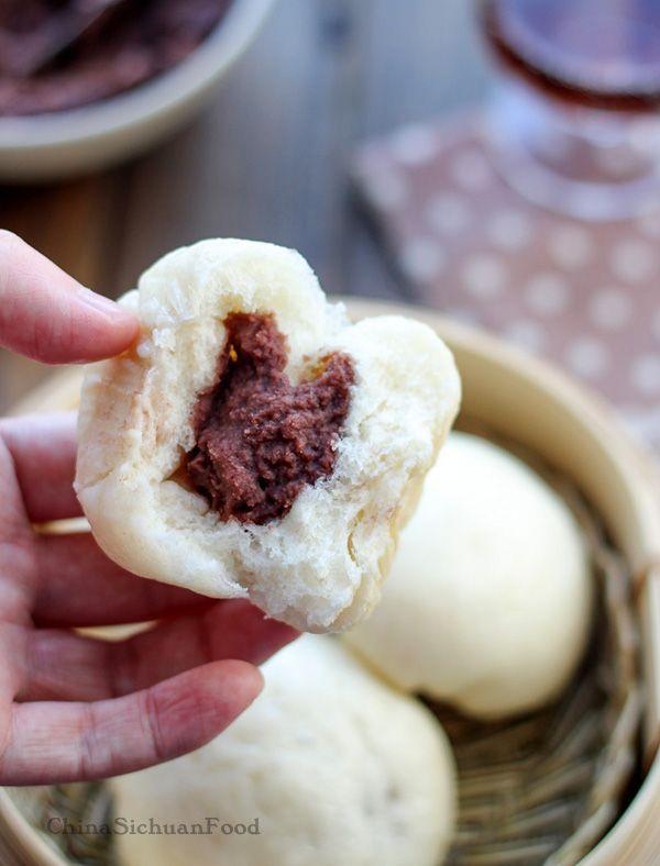 Homemade red #bean #buns