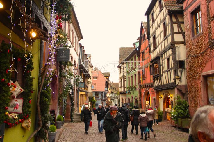 Riquewihr during Christmas time