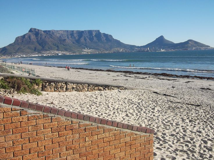 Table Mountain from Bloubergstrand, Cape Town