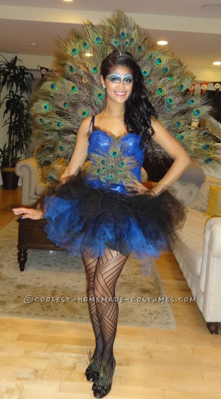Homemade Bird Costume For Women 25+ best Peacock costu...