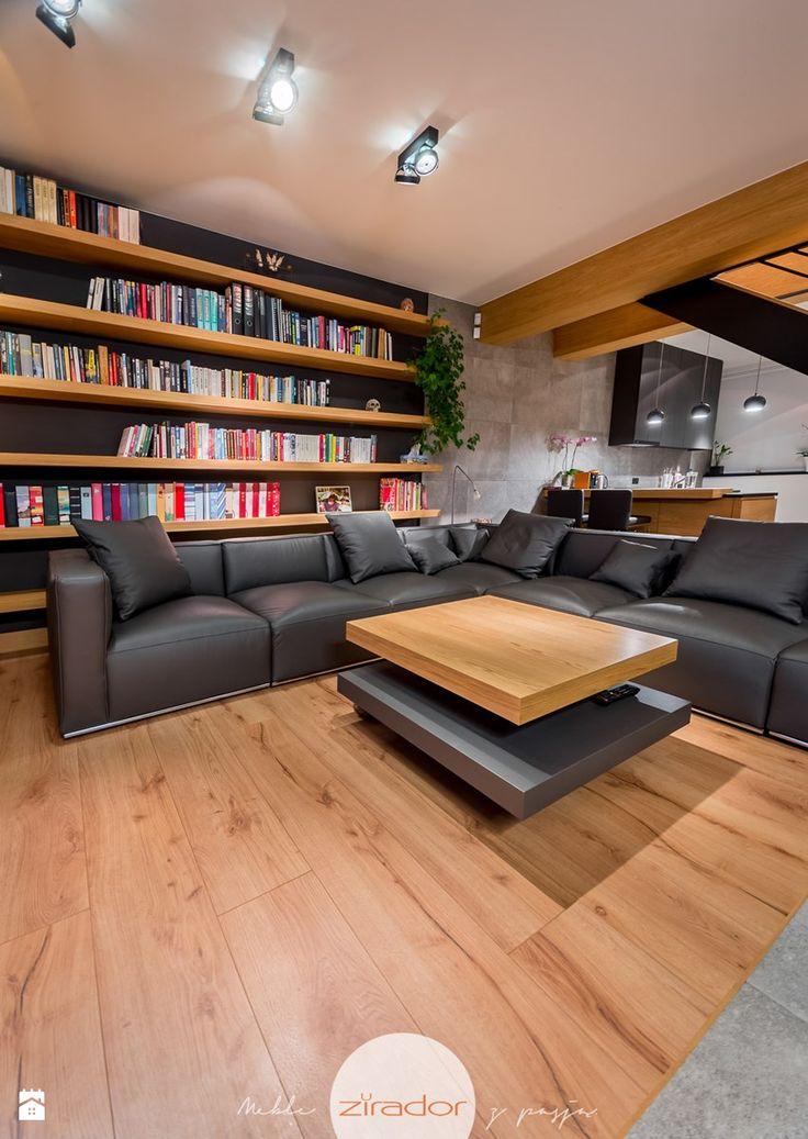 Meble do nowoczesnego domu - Salon, styl nowoczesny - zdjęcie od Zirador - Meble tworzone z pasją