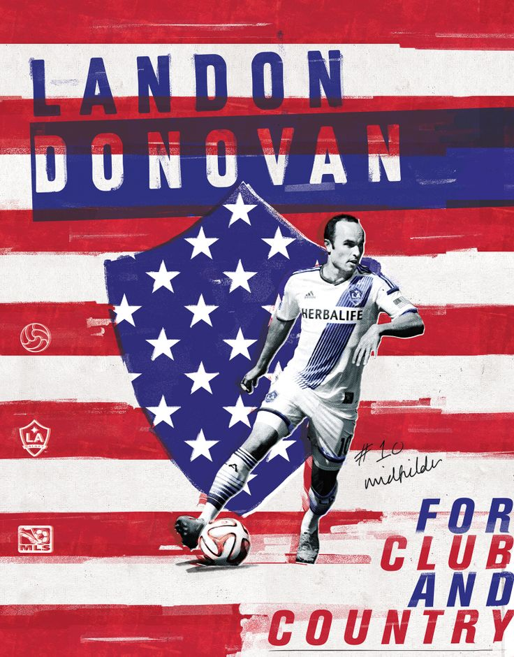 MLS World Cup Heroes Poster 12