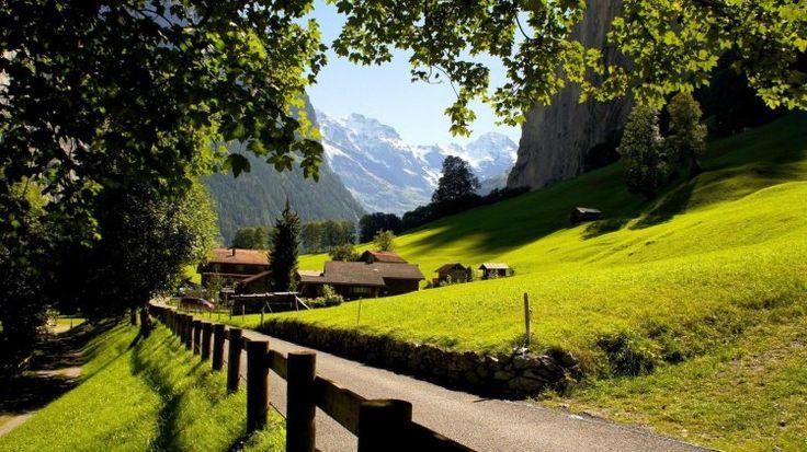İsviçre+Manzara+Resmi