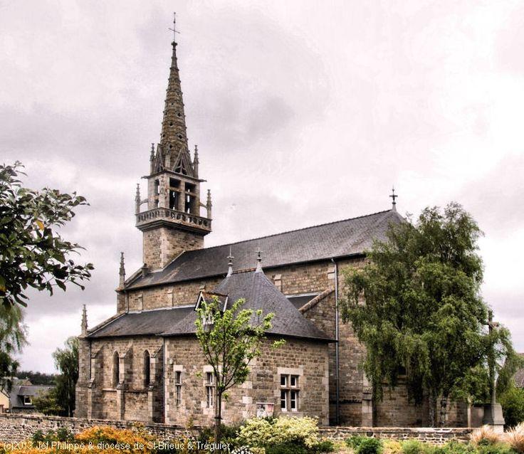 Église Saint-Jean-Baptiste, à Coëtmieux.