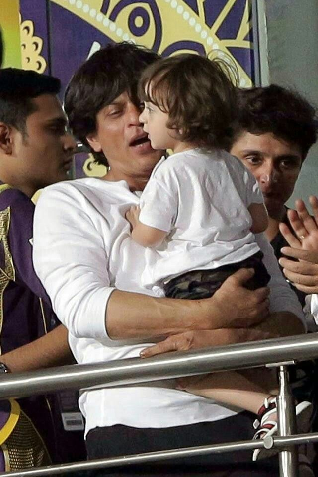 Baby Abram in IPL