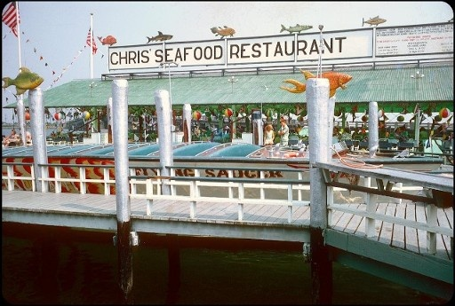 Chris Seafood Where You Could Ride The Flying Cloud Pony Or Sweetheart Jersey I Ain T All Bad In 2018 Pinterest Ocean City