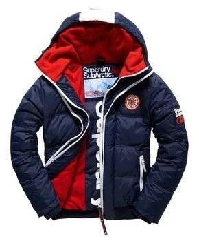 Superdry Sub Arctic Super Down Bomber Jacket Navy