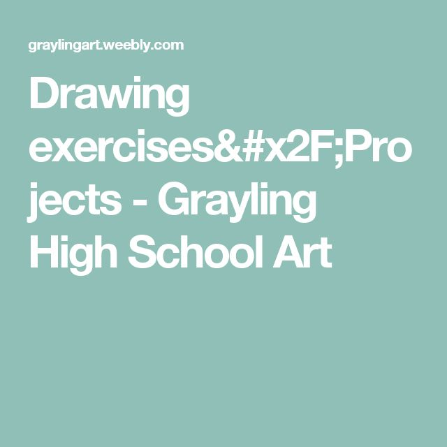 25 Best Ideas About High School Drawing On Pinterest