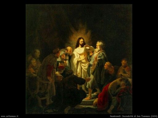Incredulita' di San Tommaso
