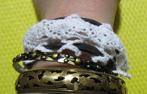 Leather & Lace Bracelet