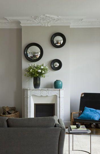 La cheminée est une pièce phare du salon