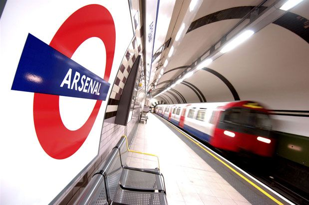 ARSENAL TUBE STATION | HIGHBURY | LONDON | ENGLAND: *London Underground: Piccadilly Line: Formally named: Gillespie Road & Arsenal (Highbury Hill)*
