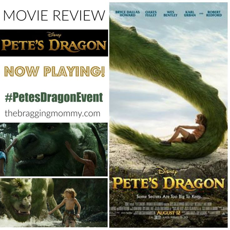 Disney PETE'S DRAGON Movie Review ~ Opens in Theaters Tomorrow! #PetesDragonEvent