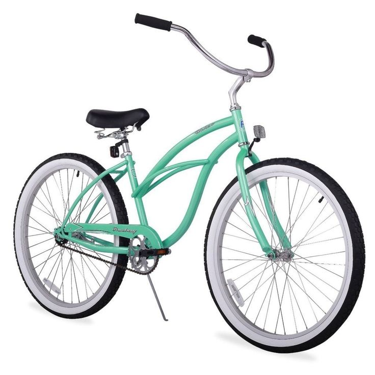 "24"" Firmstrong Urban Lady Single Speed Women's Beach Cruiser Bike, Mint"