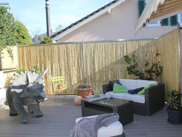 Bambusmatte als Sichtschutz für Dachterrasse › AST Mediaevent