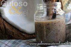 Esta Pasta de Coco Caseira também conhecida como manteiga de coco é uma delicia e está a ficar famosa...  #Receita aqui: http://www.gulosoesaudavel.com.br/2016/08/02/pasta-coco/