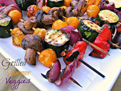 Cooking with K: Grilled Summer Veggies ~ Add Them To Your Summer Menu - mmmm good!!