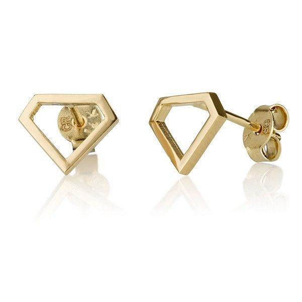 Diamond 14k Gold Earrings For Baby S And Children