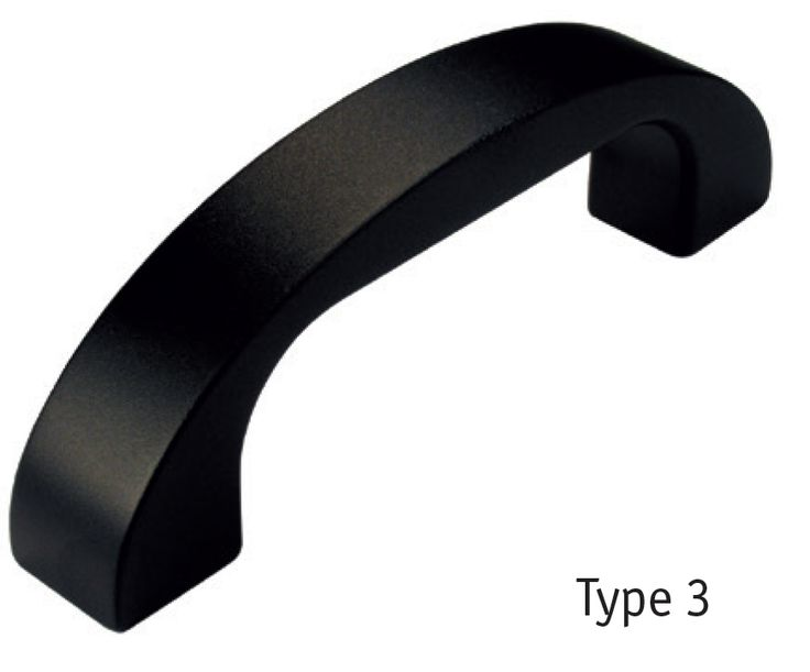 Essentra Components - Mânere de aluminiu
