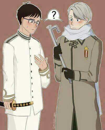 OMFG THIS IS AWESOME!<<<< I WAS SO CONFUSED FOR A SECOND AND THEN I REALIZED THAT ITS VIKTOR AND YUURI!