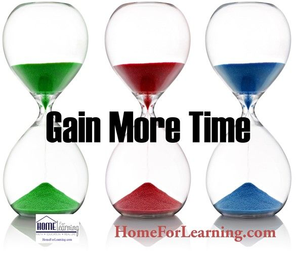 Gain More Time - Ultimate Homeschool Radio Network