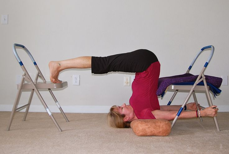 235 best yoga chair images on pinterest iyengar yoga for Chaise yoga iyengar