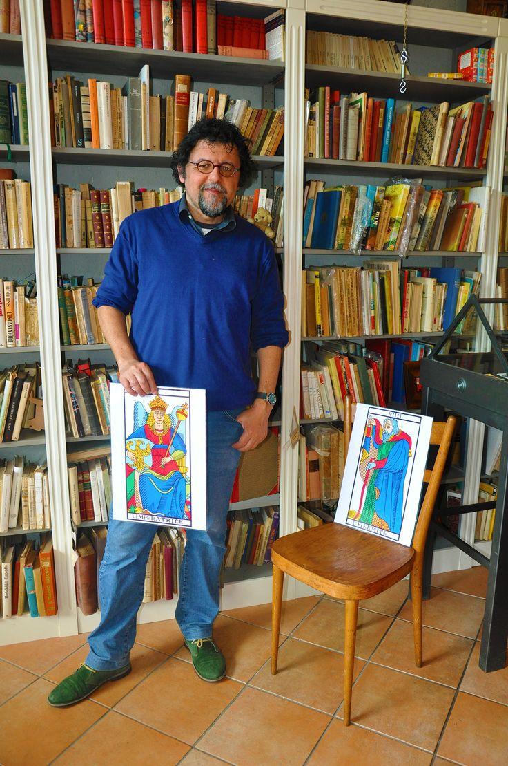 """Trevignano Romano - Francesco Le Mat - Presentazione di """"Paris Rue du Tarot e Letture Collettive."""