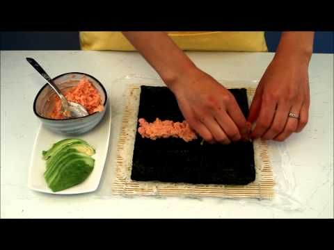How To Make Spicy Tuna Sushi Rolls