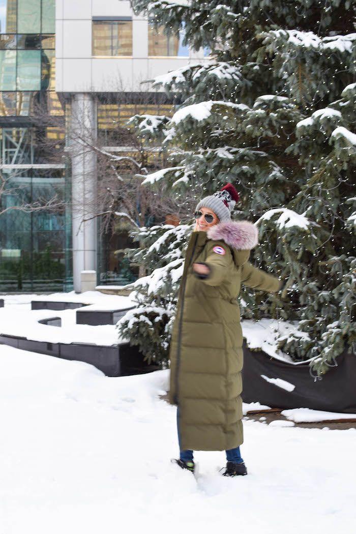 Canada Goose Mystique Parka | My Style | Jetset Justine #canadagoose #streetstyle #women #parka #coat #winter
