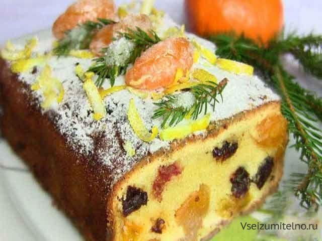 Супер вкусный мандариновый кекс